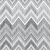 Abstraktes geometrisches nahtloses Muster Gewebegekritzel-Zickzacklinien Lizenzfreie Stockfotos