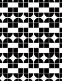 Abstraktes geometrisches nahtloses Muster, kontrastieren regelmäßigen Hintergrund Lizenzfreie Stockfotos