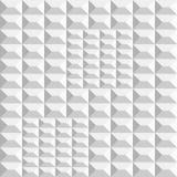 Abstraktes geometrisches nahtloses Muster mit Rechtecken und Raute, Illustration Lizenzfreie Stockfotos