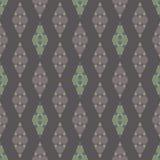 Abstraktes geometrisches nahtloses Muster Modisches Mosaikdesign vektor abbildung