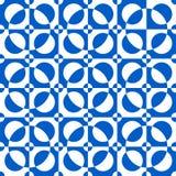 Abstraktes geometrisches nahtloses Muster Optische Illusion Lizenzfreie Stockfotos