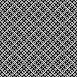 Abstraktes geometrisches nahtloses Muster in Schwarzweiss, Vektor Lizenzfreies Stockbild