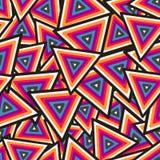 Abstraktes geometrisches nahtloses Muster. Vektor Lizenzfreies Stockfoto