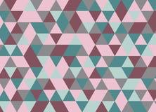 Abstraktes geometrisches nahtloses Mustermosaik Vektor Abbildung