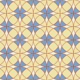 Abstraktes geometrisches nahtloses Vektor-Druck-Muster vektor abbildung