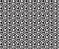 Abstraktes geometrisches Schwarzweiss-Hippie-Modekissen Stockfotos