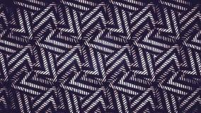 Abstraktes geometrisches Schwarzweiss-Muster Lizenzfreie Stockfotos