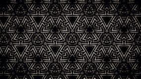 Abstraktes geometrisches Schwarzweiss-Muster Lizenzfreies Stockbild