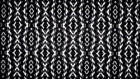 Abstraktes geometrisches Schwarzweiss-Muster Stockbilder