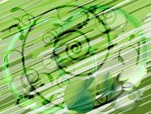Abstraktes gestreiftes background2 Stockbild