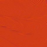 Abstraktes gewelltes geometrisches rotes Muster Lizenzfreie Stockfotografie