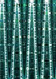 Abstraktes gewelltes Profil vektor abbildung