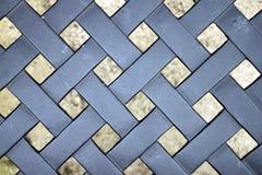 Abstraktes Gitter-Muster Stockfotos