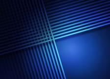 Abstraktes glänzendes Gitter im dunkelblauen Hintergrund vektor abbildung