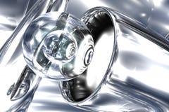 Abstraktes Glas Stockfotos
