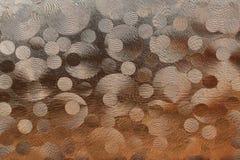 Abstraktes Glasmuster Stockfotos