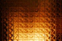 Abstraktes Glasmuster stockfoto
