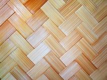 Abstraktes glattes hölzernes weavin Stockfoto