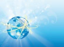 Abstraktes globus digitale Auslegung Lizenzfreie Stockfotos