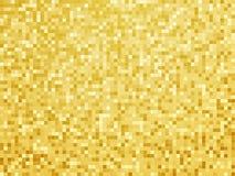 Abstraktes goldenes Fliesenmuster Stockfotos