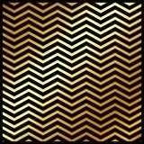 Abstraktes Goldfarbsparrenmuster auf dem schwarzen Farbhintergrund Lizenzfreies Stockfoto