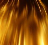 Abstraktes Goldluxuswellen-Planhintergrund Lizenzfreies Stockfoto
