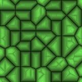 abstraktes Grün 3d Stockfoto