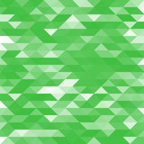 Abstraktes Grün entwarf lowpoly Vektorhintergrund Polygonaler Elementhintergrund Lizenzfreie Stockfotos