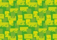 Abstraktes Grün farbige Auslegung lizenzfreie abbildung