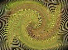 Abstraktes grünes Bild Stockbilder