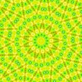 Abstraktes grünes Muster stock abbildung