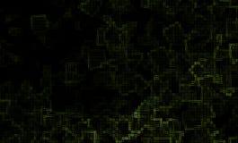 Abstraktes grünes Muster Stockfotografie