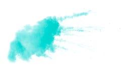 Abstraktes grünes Pulver Lizenzfreie Stockbilder