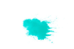 Abstraktes grünes Pulver Lizenzfreies Stockbild
