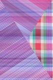 Abstraktes grafisches buntes Hintergrundmuster für Design Stockfotos