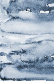 Abstraktes graues Aquarell auf Papierbeschaffenheit als Hintergrund Lizenzfreie Stockfotografie