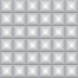 Abstraktes graues Quadrat prägte Schattenhintergrund, Illustration VE lizenzfreie abbildung