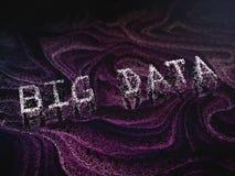 Abstraktes großes Datenkonzeptbild Lizenzfreie Stockfotografie
