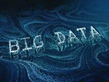 Abstraktes großes Datenkonzeptbild Lizenzfreies Stockfoto