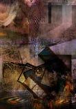 Abstraktes Grunge Stockbild