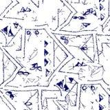 Abstraktes grunge Muster Lizenzfreies Stockbild