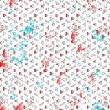 Abstraktes grunge Muster Stockbild