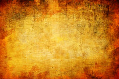 Abstraktes grunge orange hölzerner Hintergrund Stockfoto