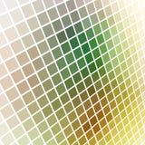 Abstraktes grungy farbiges Mosaik Stockfotos