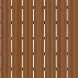 Abstraktes hölzernes Braun des Hintergrundes Nahtlose Schablone Stockbilder