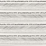 Abstraktes Handzeichnungsmuster. Hintergrund. Stockfotos