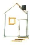 Abstraktes Haus. Stockbilder