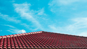 Abstraktes Haus-Dach Lizenzfreies Stockfoto