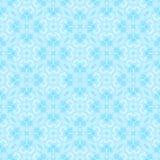 Abstraktes hellblaues Fliesenmuster Cyan-blauer mit Ziegeln gedeckter Beschaffenheitshintergrund Aufwändige nahtlose Illustration Stockbild
