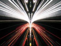 Abstraktes helles Glühen Lizenzfreie Stockbilder